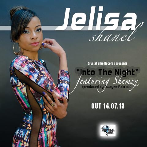 Jelisa Shanel Into The Night Artwork